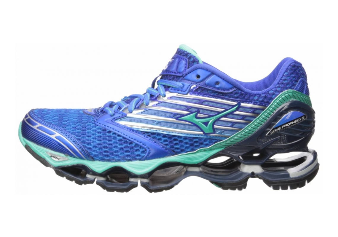 Mizuno Wave Prophecy 5 Diva Blue/Electric Green