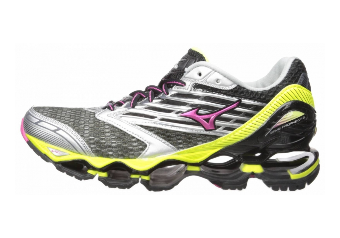 Mizuno Wave Prophecy 5 Gunmetal/Fuchsia Purple