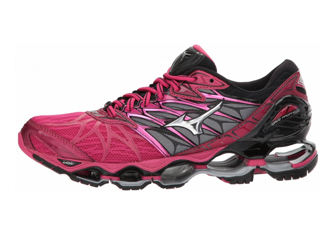 Mizuno Wave Prophecy 7 Bright Rose/Silver
