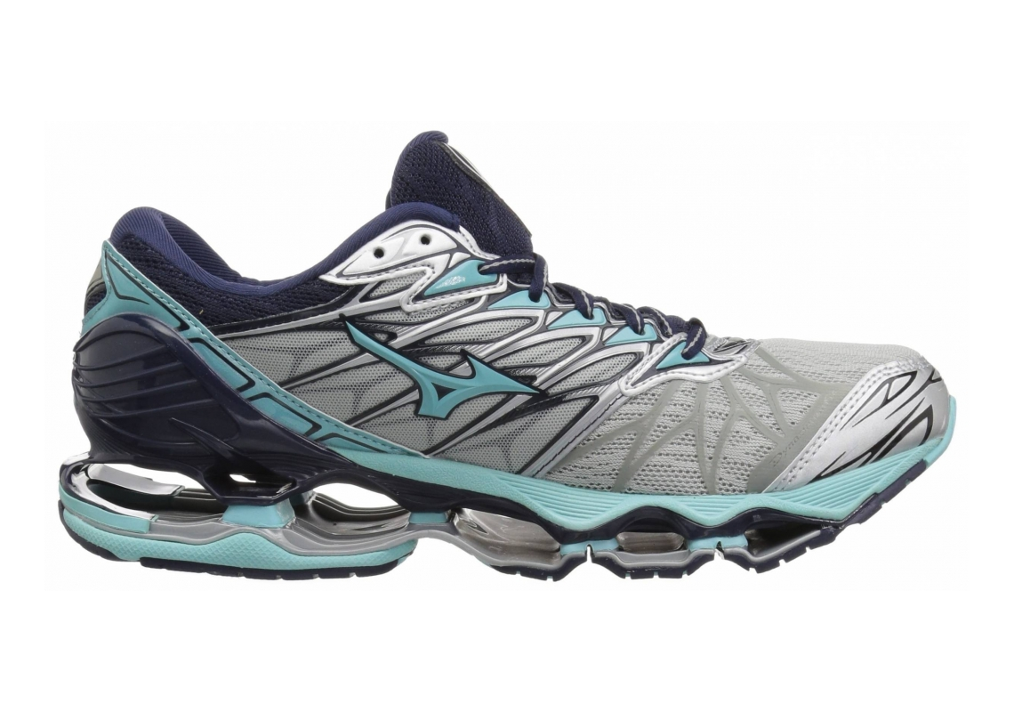 Mizuno Wave Prophecy 7 Silver/Aqua Splash