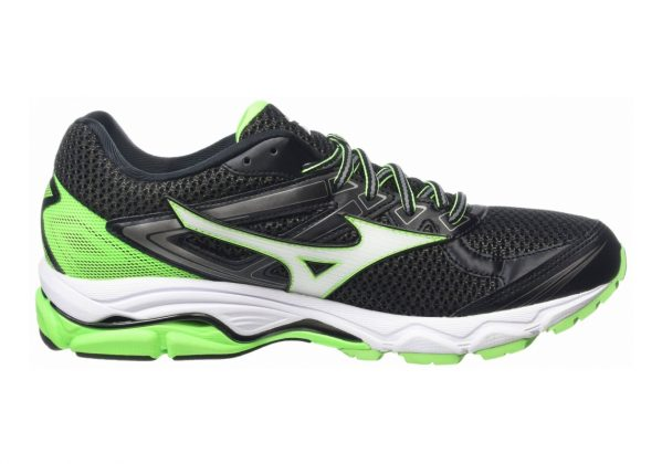 Mizuno Wave Ultima 8 Black (Black/White/Green Gecko)