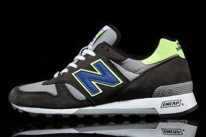 New Balance 1300 Grey Neon Blue