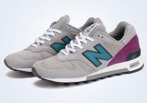 New Balance 1300 Light Grey Teal Purple