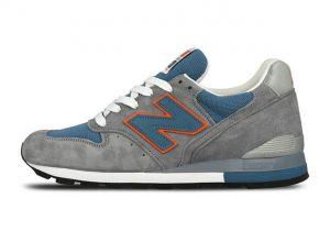 New Balance 996 Grey/Blue/Orange