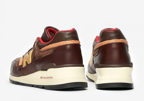 New Balance 997 Brown Leather