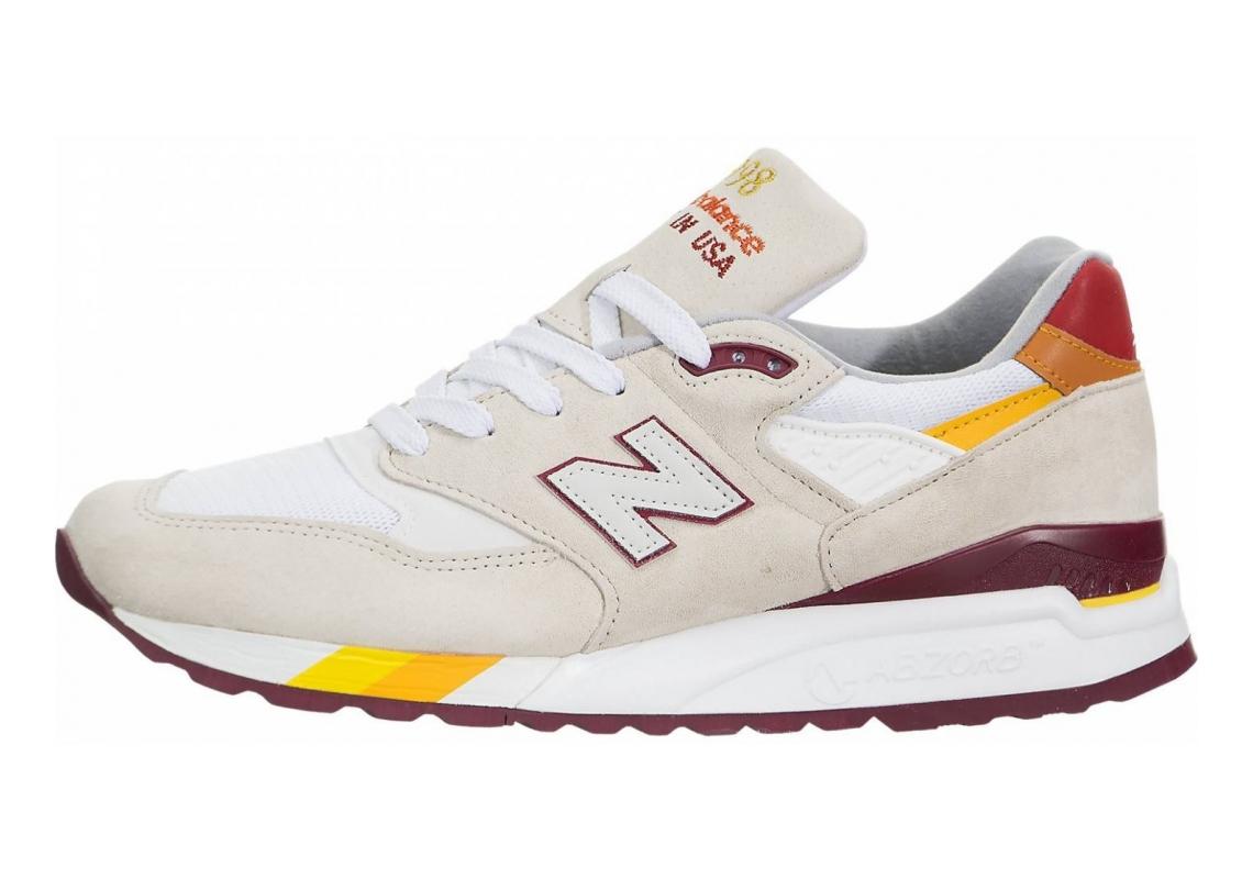 New Balance 998 White/Red