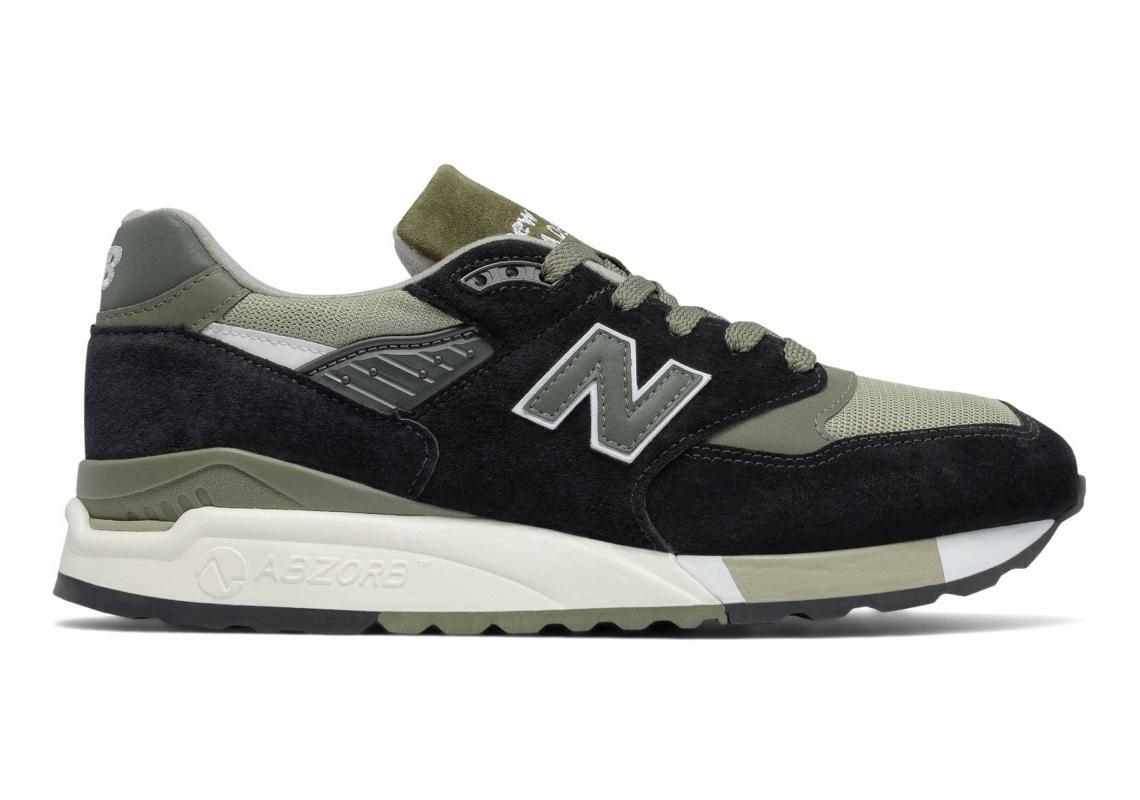 New Balance 998 Black/Green