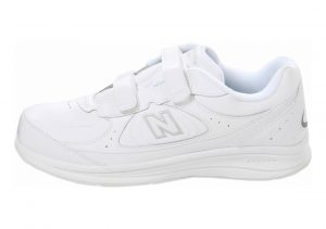 New Balance Hook and Loop 577 White