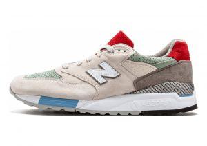 New Balance 998 Beige/Red/Green