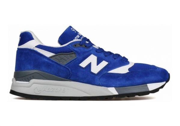 New Balance 998 Blue/White