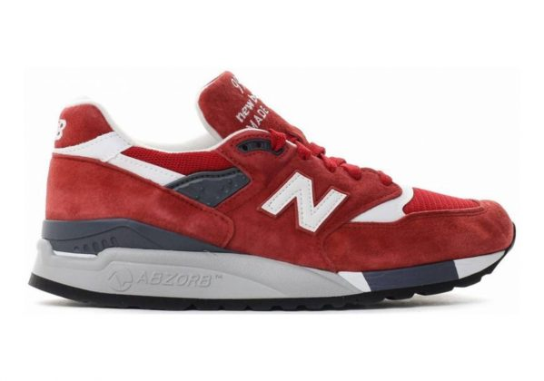 New Balance 998 Red/White