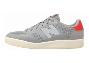 New Balance 300 Engineered Knit Grey with Red