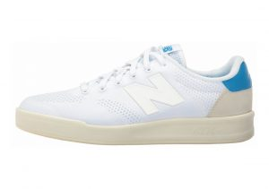 New Balance 300 Engineered Knit White with Blue