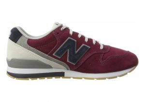 New Balance 996 Suede Rot (Burgundy With Navy)