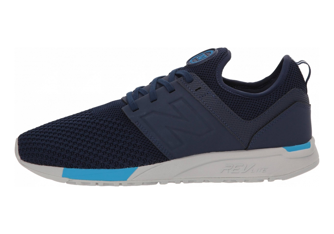 New Balance 247 Sport Navy with Blue
