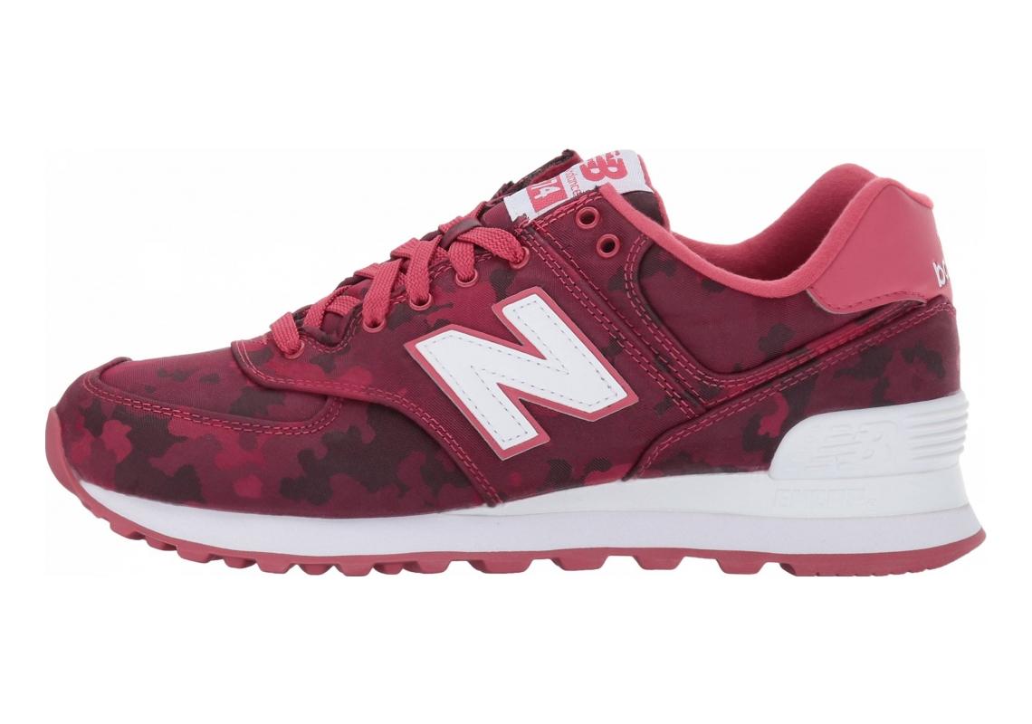 New Balance 574 Camo Pink