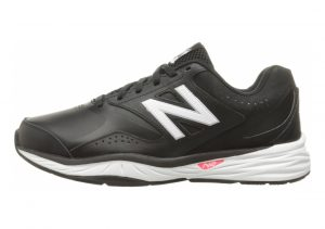 New Balance 824 Trainer Black with White