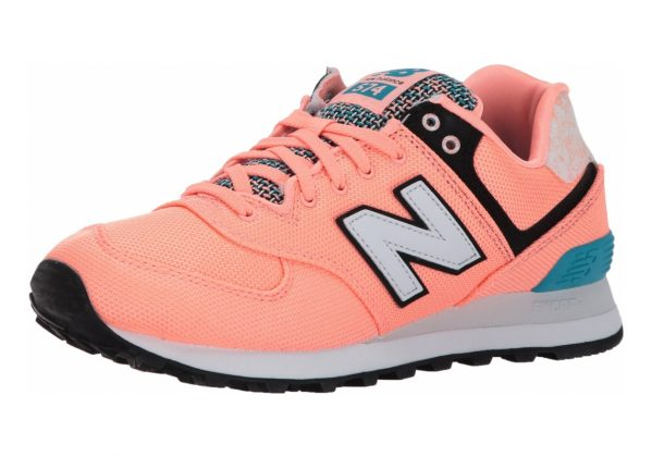 New Balance 574 Art School Bleached Sunrise