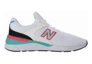 New Balance X-90 White/Pink/Green