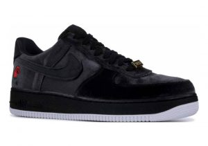 Nike Air Force 1 07 QS Black, Black-white
