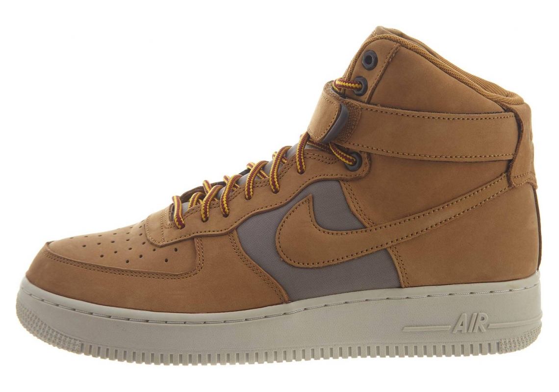 Nike Air Force 1 High Wheat/Khaki/Light Bone/Yellow Ochre