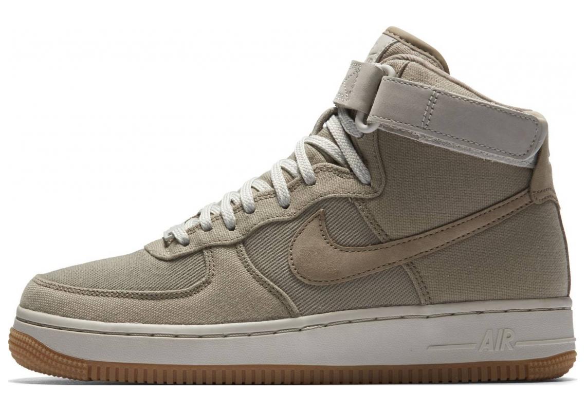 Nike Air Force 1 High Khaki/Light Bone/Gum Light Brown