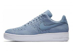 Nike Air Force 1 Flyknit Low Blue