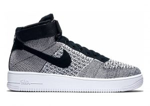 Nike Air Force 1 Ultra Flyknit Mid BLACK / WHITE