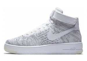 Nike Air Force 1 Ultra Flyknit Mid White/Black