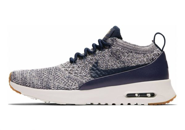 Nike Air Max Thea Ultra Flyknit Multicolor (College Navy/College Navy/Sail)
