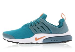 Nike Air Presto Essential Blustery Terra Orange Iced Jade White Dolphins