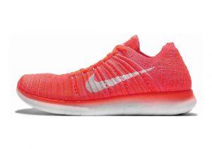 Nike Free RN Flyknit Orange (Hyper Orange/Total Crimson/Pink Blast/Weiß)