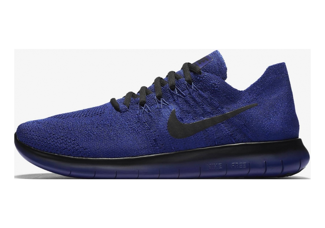 Nike Free RN Flyknit 2017 Deep Royal Blue/Black