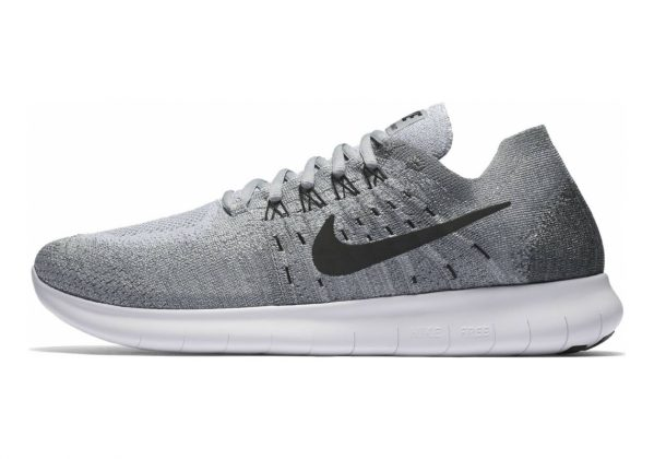 Nike Free RN Flyknit 2017 Wolf Grey Black & Anthracite
