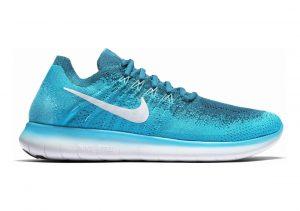 Nike Free RN Flyknit 2017 Blue (Blue Lagoon / Pure Platinum-legend Blue 400)