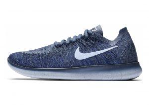 Nike Free RN Flyknit 2017 Blau (Ocean Fog/Cirrus Blue/College Navy)