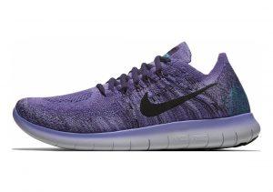 Nike Free RN Flyknit 2017 Light Thistle/Black/Raisin