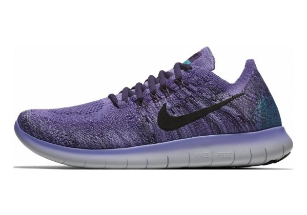 Nike Free RN Flyknit 2017 Light Thistle/Black/Raisin