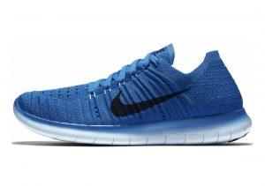 Nike Free RN Flyknit Orange (Concord / Black-pht Blue-gmm Bl)