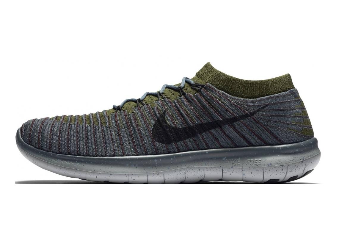 Nike Free RN Motion Flyknit blauw