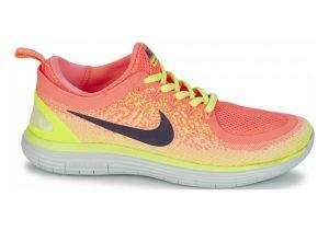 Nike Free RN Distance 2 Multicolor (Lava Glow/Dark Raisin-barely Volt-volt-sun L)
