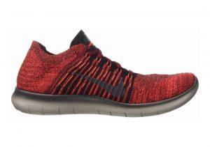 Nike Free RN Flyknit Team Red/Black/Total Crimson/Dark Grey