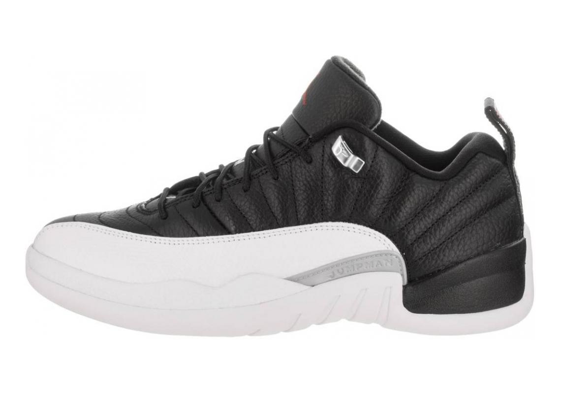 Air Jordan 12 Retro Low black, varsity red-white