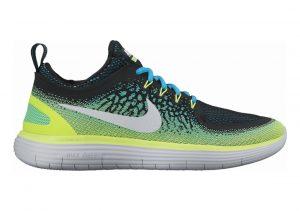 Nike Free RN Distance 2 Azul (Chlorine Blue / White / Electro Green / Black)