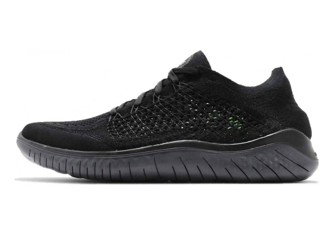 Nike Free RN Flyknit Black / White