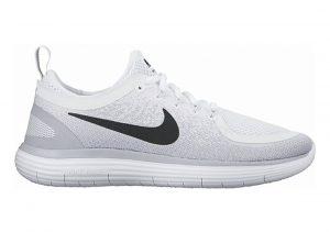 Nike Free RN Distance 2 Blanc (Blanc/Grisloup/Platinepur/Noir)