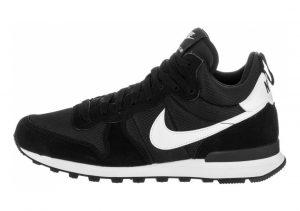 Nike Internationalist Mid Black/White/Wolf Grey/White