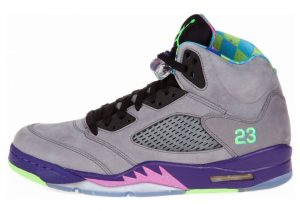 Air Jordan 5 Retro cl gry, clb pnk-crt prpl-gm ryl