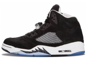 Air Jordan 5 Retro black, cool grey-white