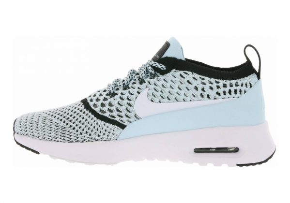 Nike Air Max Thea Ultra Flyknit Glacier Blue White Black 400
